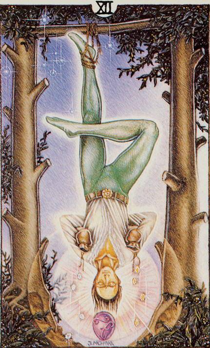 la bai tarot the hanged man